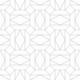 geometrisches nahtloses Muster Auch im corel abgehobenen Betrag Stockfoto