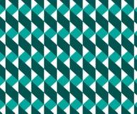 Geometrisches nahtloses Muster, Bandmuster, Sparrenmuster Stockfotografie