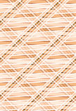 Geometrisches nahtloses Muster in den warmen Farben. Stockbild