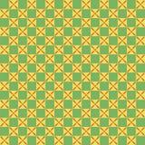 Geometrisches nahtloses Muster in der ägyptischen Art Stockfotos