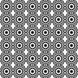 Geometrisches nahtloses Muster der Art- DecoArtfliese Lizenzfreie Stockfotografie