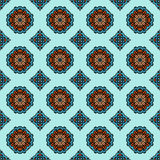 Geometrisches nahtloses Muster der Geschenkverpackung Stockbild