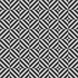 Geometrisches nahtloses Muster des Vektors mit Streifen, Linien, Quadrate stockfotos