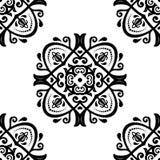 geometrisches nahtloses Muster entziehen Sie Hintergrund Stockbilder