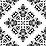 geometrisches nahtloses Muster entziehen Sie Hintergrund Lizenzfreie Stockfotografie