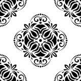 geometrisches nahtloses Muster entziehen Sie Hintergrund Lizenzfreies Stockfoto