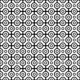 geometrisches nahtloses Muster entziehen Sie Hintergrund Stockbild