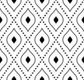 geometrisches nahtloses Muster entziehen Sie Hintergrund Stockfotos