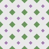 Geometrisches nahtloses Muster mit Rauten Auch im corel abgehobenen Betrag lizenzfreie abbildung