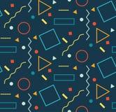 geometrisches nahtloses Muster Moderne Abstraktions-entscheidende Serie stock abbildung