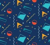 geometrisches nahtloses Muster Moderne Abstraktions-entscheidende Serie vektor abbildung