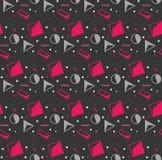geometrisches nahtloses Muster Moderne Abstraktions-entscheidende Serie lizenzfreie abbildung