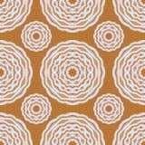 Geometrisches nahtloses Muster, modische abstrakte Blumenbeschaffenheit lizenzfreie abbildung