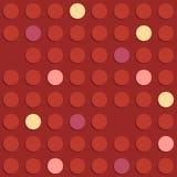 Geometrisches nahtloses Muster in Retrostil 3 Stockbild