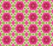 Geometrisches nahtloses rosa Muster Stockbilder