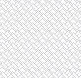 Geometrisches nahtloses Vektor-Muster für Netzhintergrund lizenzfreie abbildung