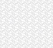 Geometrisches nahtloses Vektor-Muster für Netzhintergrund vektor abbildung