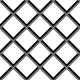 Geometrisches nahtloses Vektor-Zusammenfassungs-Muster Lizenzfreie Stockfotografie