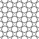 Geometrisches nahtloses Vektor-Zusammenfassungs-Muster Stockfoto