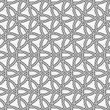 Geometrisches nahtloses Vektormuster Stockfoto