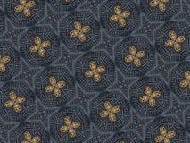 Geometrisches orientalisches Muster maserte Formillustration lizenzfreie stockbilder