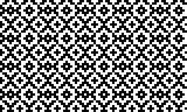 Geometrisches pixelated nahtloses Muster des nordischen Vektors lizenzfreie abbildung
