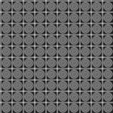 Geometrisches Quadrat und sircles nahtloses Muster Modegrafikdesign Auch im corel abgehobenen Betrag Optische Illusion Modernes s Lizenzfreie Stockbilder