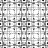 Geometrisches quadratisches Muster vektor abbildung