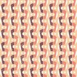 Geometrisches Retro Muster Stockfotografie