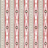 Geometrisches Retro Muster Stockbilder