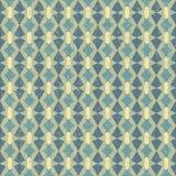 Geometrisches Retro Muster Lizenzfreies Stockbild