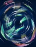Geometrisches rundes Muster Stockfotos