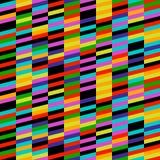 Geometrisches Streifen-Muster Lizenzfreies Stockbild