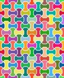 Geometrisches Vektor-Muster Nahtloser Hintergrund Lizenzfreie Stockfotos
