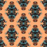Geometrisches Vektor-Muster Seamess Stockbild