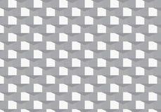 Geometrisches Vektormuster, quadratische Form mit abstraktem Schattendreieck wiederholend Grafik sauber für Gewebe, Tapete, Druck lizenzfreie abbildung