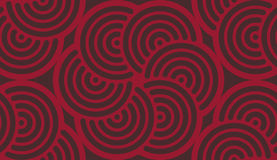 Geometrisches verfasstes (sentence Gewebe der abstrakten Kunst Muster Lizenzfreie Stockfotografie
