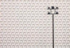 Geometrisches Weiß Stockfotos