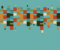 Geometrisches Weinlesemuster Lizenzfreie Stockbilder