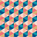 geometrisk abstrakt bakgrund Royaltyfria Bilder