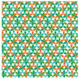 geometrisk abstrakt bakgrund royaltyfri illustrationer