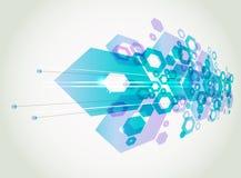 geometrisk abstrakt bakgrund Fotografering för Bildbyråer