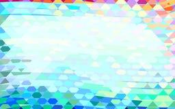 geometrisk abstrakt bakgrund Arkivbild