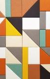 geometrisk abstrakt bakgrund Arkivfoto