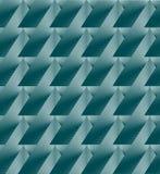 Geometrisk abstrakt bakgrund för turkos Royaltyfri Fotografi