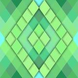 Geometrisk abstrakt bakgrund för vektor av rombformer Royaltyfria Foton