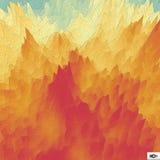 geometrisk abstrakt bakgrund Mosaisk vektorillustration Arkivfoton