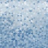 Geometrisk abstrakt bakgrund som göras av trianglar Arkivbild