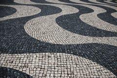 geometrisk abstrakt bakgrund Strukturen av dekorativ tegelplattor och keramik royaltyfria foton