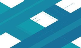 geometrisk abstrakt bakgrund vit- och blålinjenbakgrund abstrakt bakgrund stock illustrationer